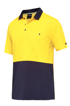 Picture of King Gee-K54205-Workcool Hyperfreeze Spliced Polo S/S