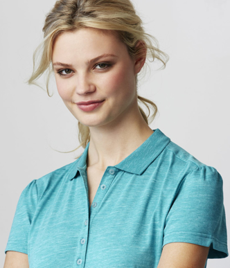 Picture of Biz Collection-P608LS-Ladies Coast Polo