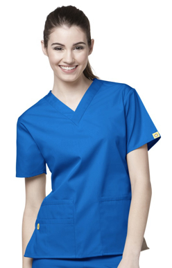 Picture of NNT Uniforms-CATU66-BLU-Scrub top Bravo