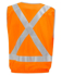 "Picture of Visitec-VVEN-Elastic Waist Vest - D/N with ""X"" back RF tape"