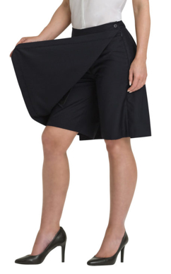 Picture of Corporate Comfort-FSK43-896-Ladies Classic Skort