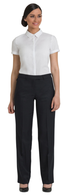 Picture of Corporate Comfort-FPA40-992-Sorbtek Ladies Pant W/Exposed Elastic Back Waist