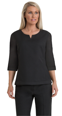 Picture of Corporate Comfort-FST61-992-Sorbtek Ladies 3/4 Sleeve Shell Top