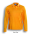 Picture of Bocini-CP0912-Stitch Feature Essentials-Unisex Adults L/S Polo