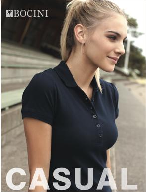 Picture of Bocini-CP0915-Ladies Fashion Polo