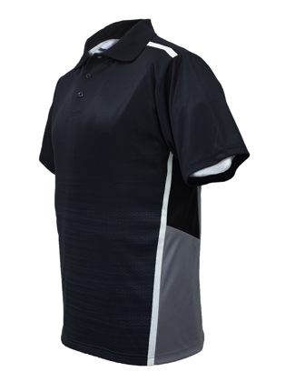 Picture of Bocini-CP1505-Unisex Adults Sublimated Panel Polo
