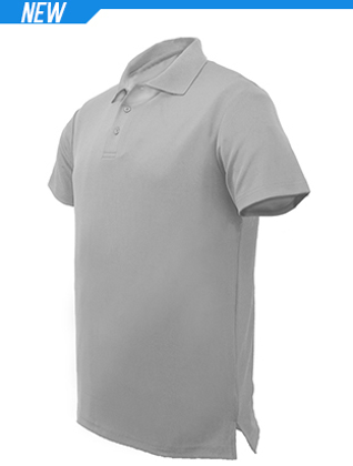 Picture of Bocini-CP1549-Unisex Adults Plain Cotton Polo
