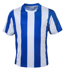 Picture of Bocini-CT1102-Unisex Adults Sublimated Striped Football Jersey
