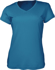 Picture of Bocini-CT1418-Ladies Brushed V-Neck Tee Shirt