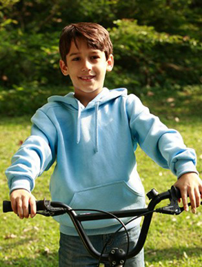 Picture of Bocini-CJ1061-Kids Pull Over Hoodie