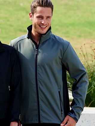 Picture of Bocini-CJ1219-Men's Soft Shell Jacket