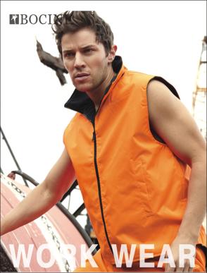 Picture of Bocini-SJ0429-Unisex Adults Hi-Vis Reversible Vest