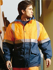 Picture of Bocini-SJ0430-Unisex Adults Hi-Vis Polar Fleece Lined Jacket With Reflective Tape