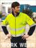 Picture of Bocini-SJ1239-Unisex Adults Hi-Vis Full Zip Polar Fleece With reflective tape