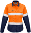 Picture of Syzmik-ZW720-Womens Rugged Cooling Taped Hi Vis Spliced L/S Shirt