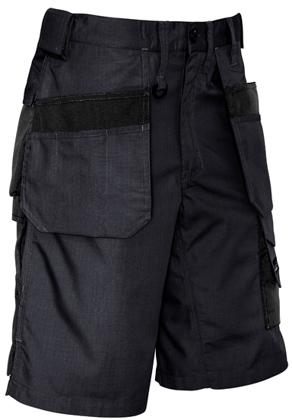 Picture of Syzmik-ZS510-Mens Ultralite Multi-Pocket Short