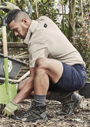 Picture of Syzmik-ZS180-Mens Lightweight Outdoor Short