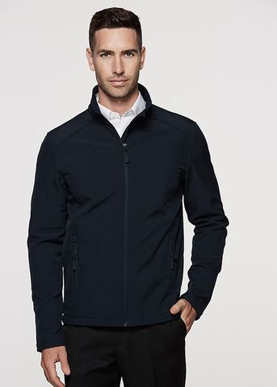 Picture of Aussie Pacific-1512-Mens Selwyn Sof-Shell Jacket
