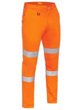Picture of Bisley Workwear-BP6008T-Taped Biomotion Stretch Cotton Drill Work Pants