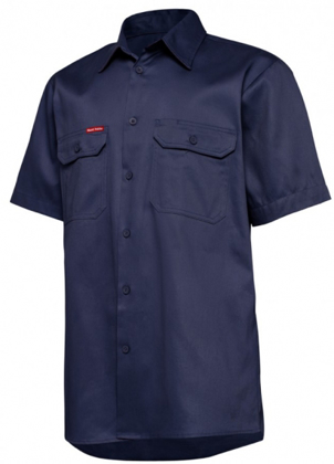 Picture of Hardyakka-Y04625-SHORT SLEEVE LIGHT WEIGHT DRILL VENTILATED SHIRT