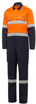 Picture of Hardyakka-Y00055-SHIELDTEC COVERALL TWO TONE WITH TAPE